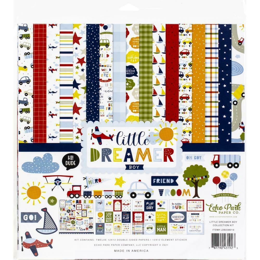 Echo Park Little Dreamer Boy Collection - Assorted