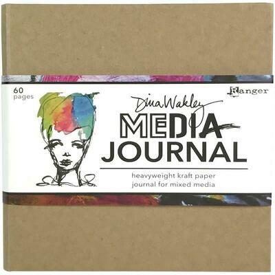 "Dina Wakley Media Journal Kraft 6""X6"""
