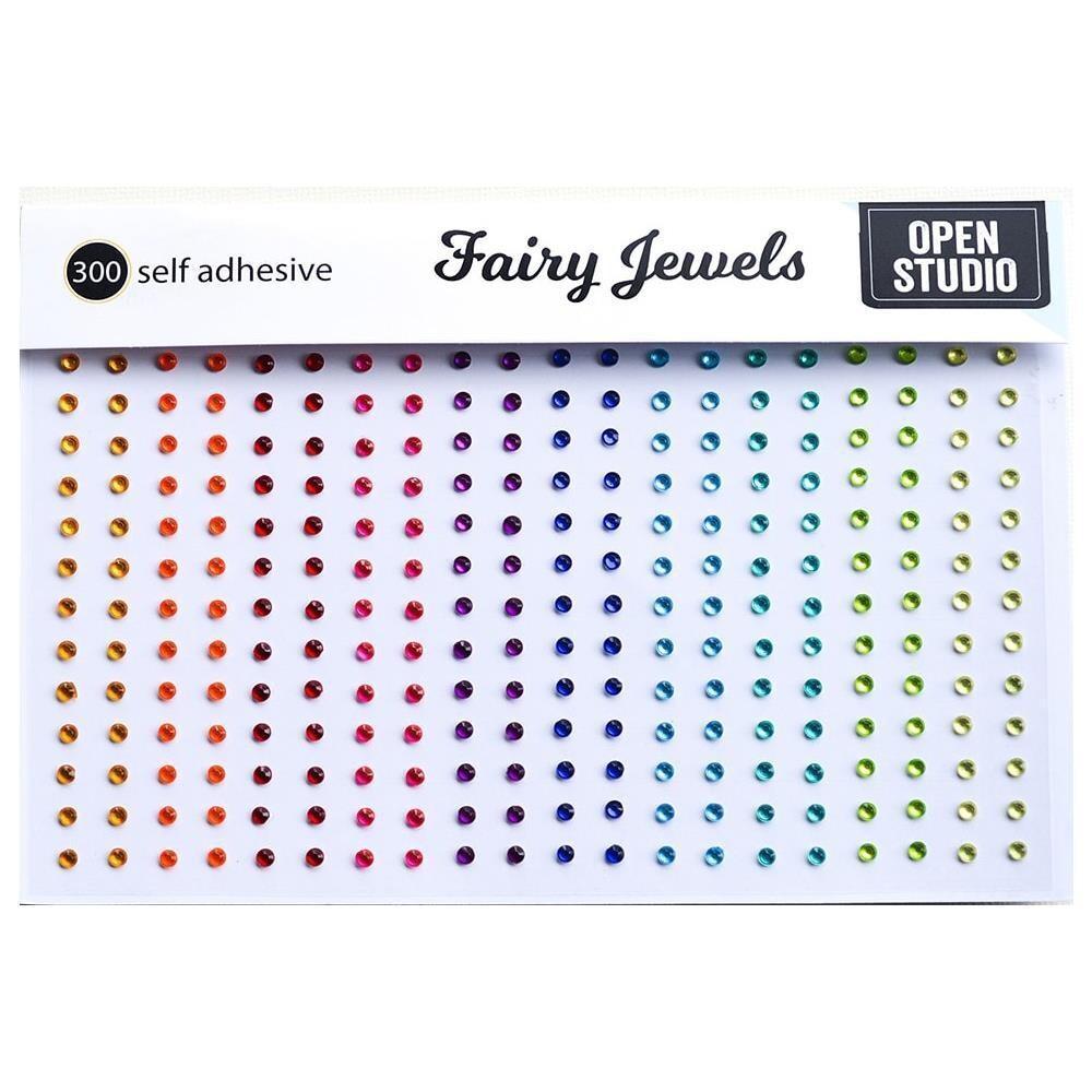 Open Studio Fairy Jewels Brights 300/pkg
