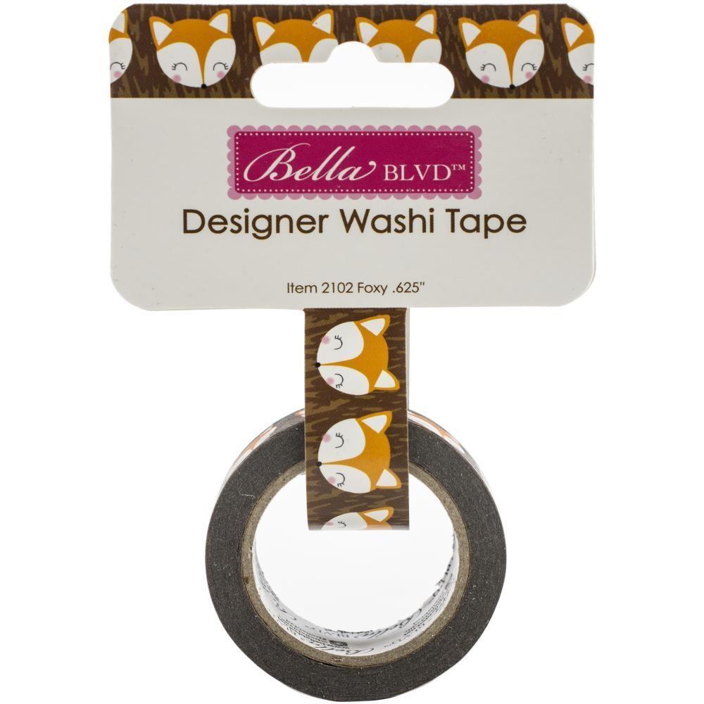 Bella Blvd Washi Tape Foxy