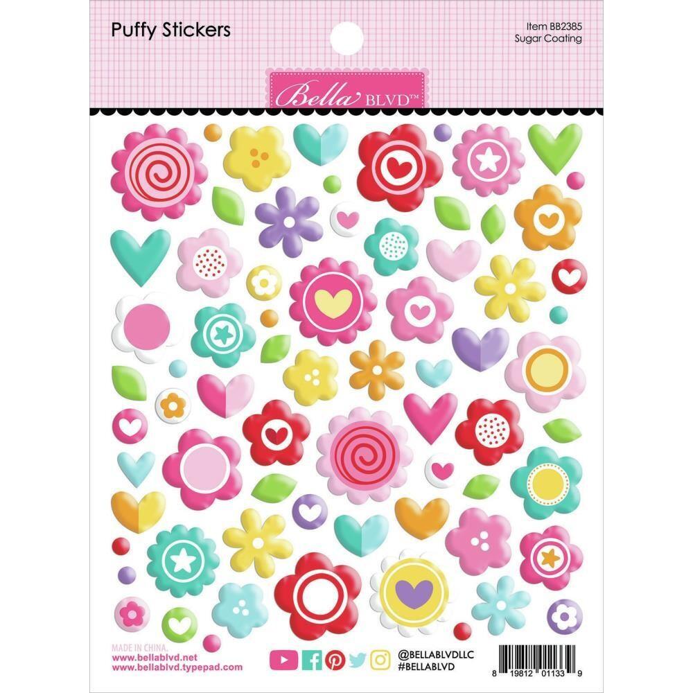 Bella Blvd Puffy Stickers My Candy Girl - Sugar Coating