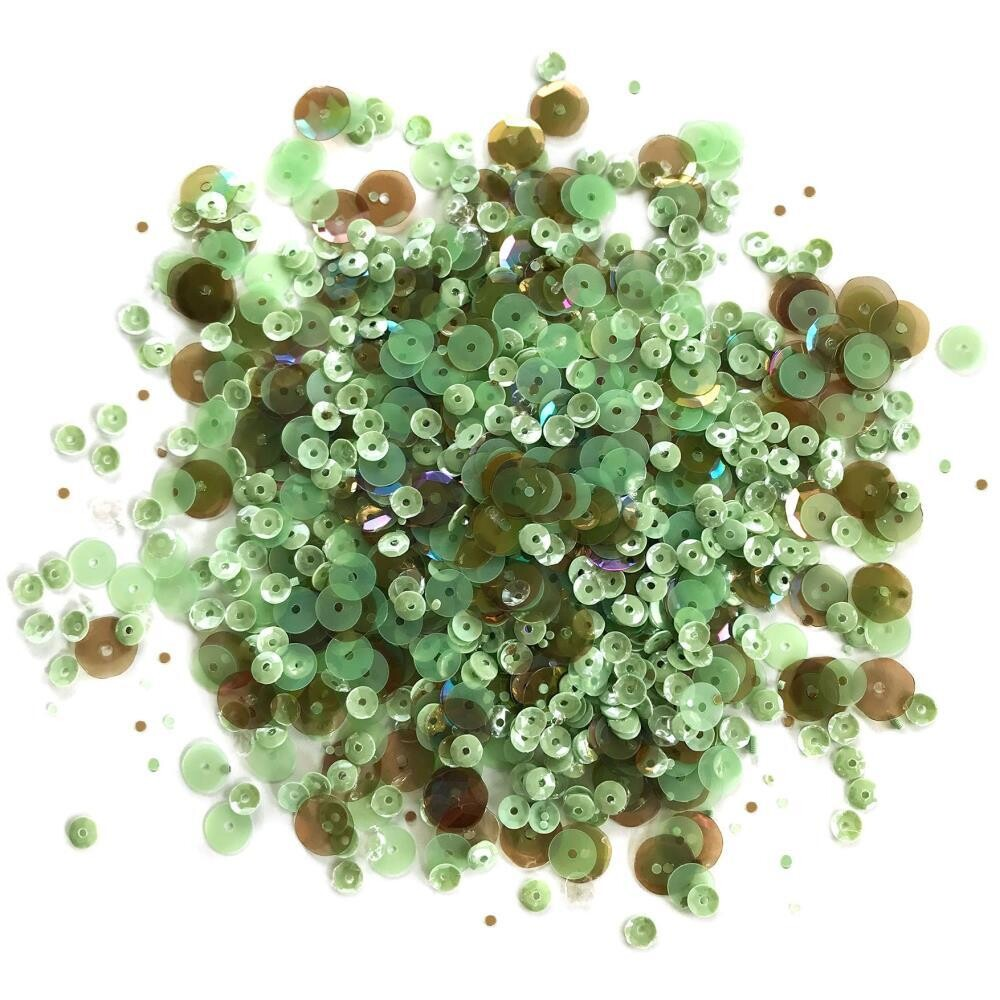 28 Lilac Lane Premium Sequins 30grams with tin- Assorted