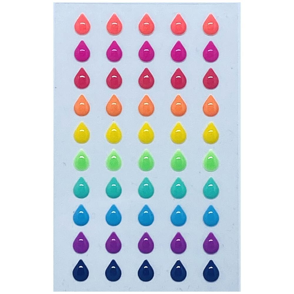 Pure and Simple Glossies Droplets - Party Mix 50/pkg