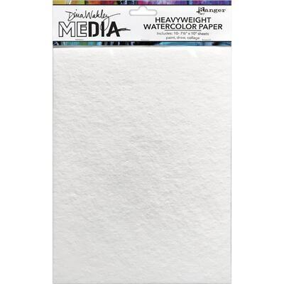 Dina Wakley Media Heavyweight Watercolour Paper 10/pkg