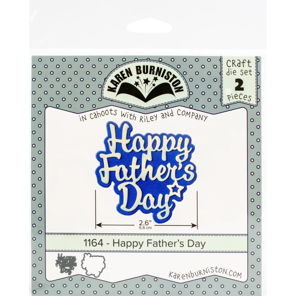 Karen Burniston Die - Happy Father's Day