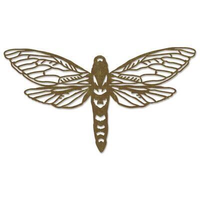 Tim Holtz Sizzix Thinlits Die Perspective Moth