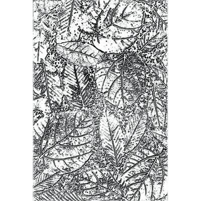 Tim Holtz Sizzix 3D Texture Fades Foliage