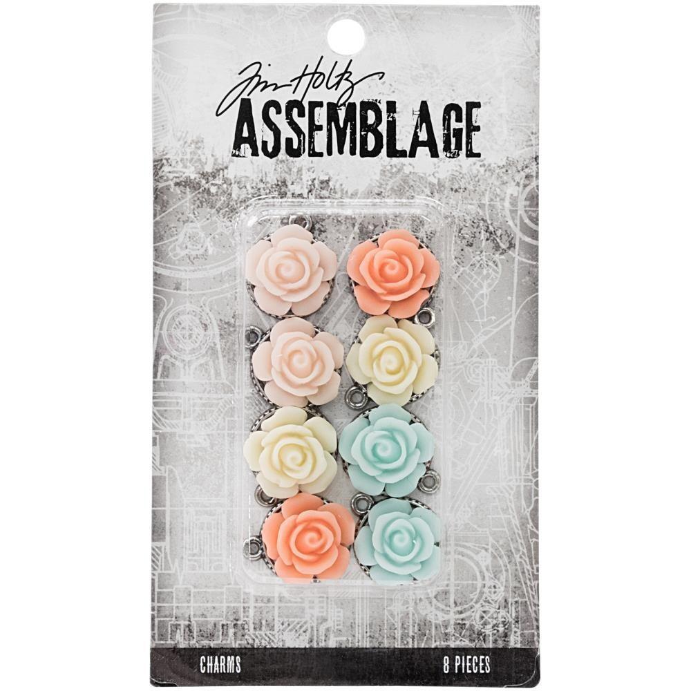 Tim Holtz Assemblage Roses 8/pkg