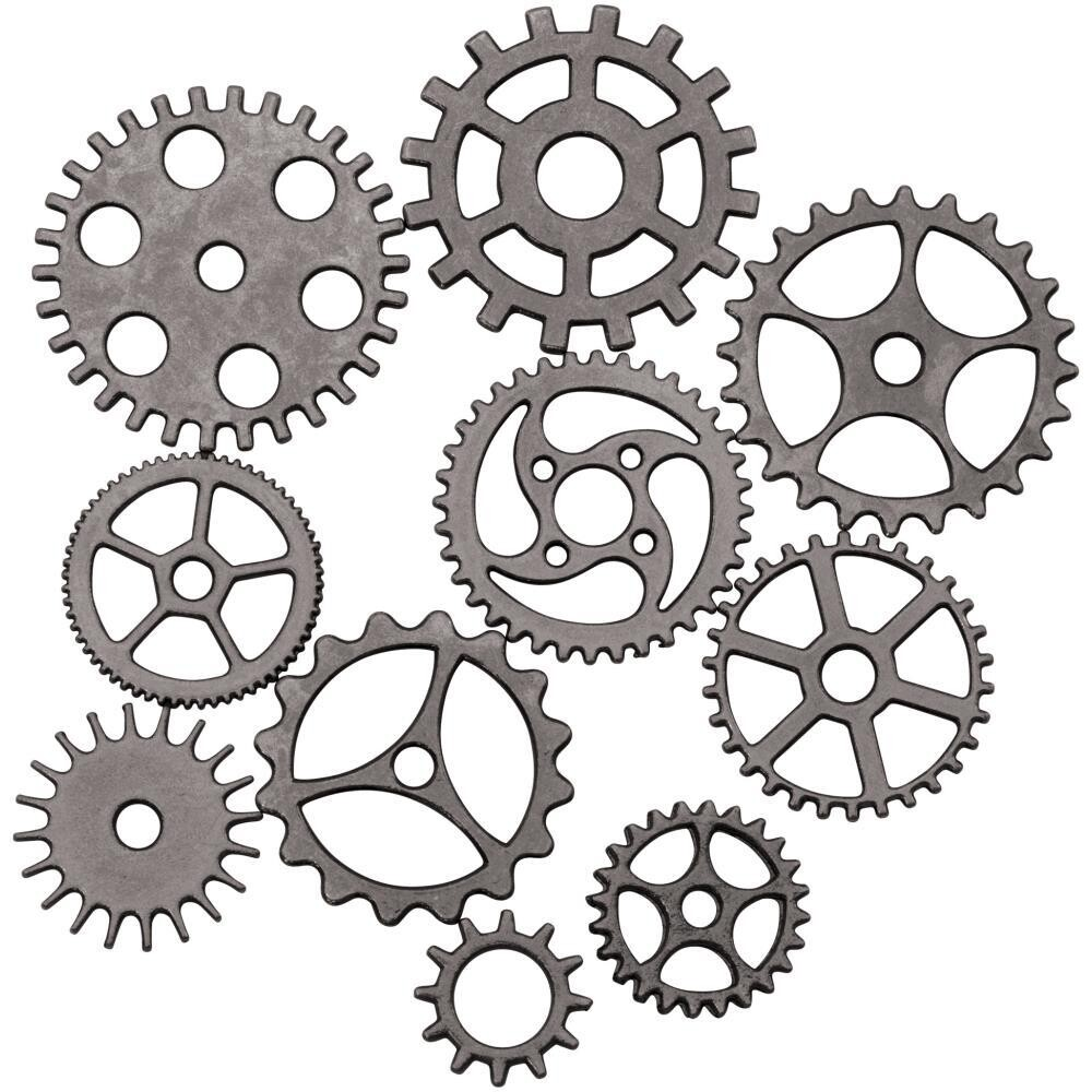 Tim Holtz Assemblage Gears and Cogs 10/pkg
