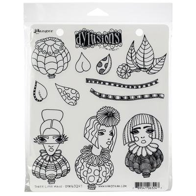 Dylusions Cling Stamps