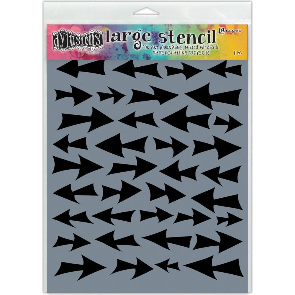 "Dylusions Stencils 9""X12"" - Assorted"
