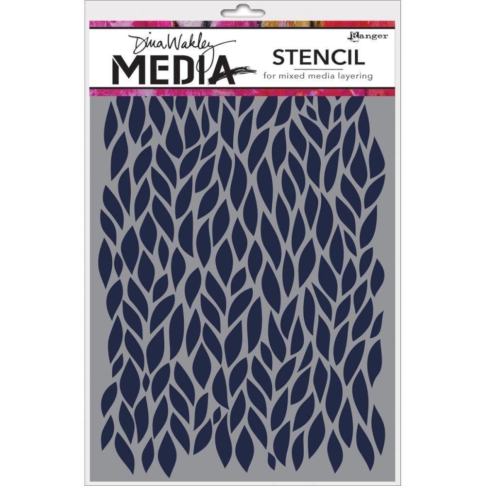 "Dina Wakley Media Stencils 9""X6"" assorted"
