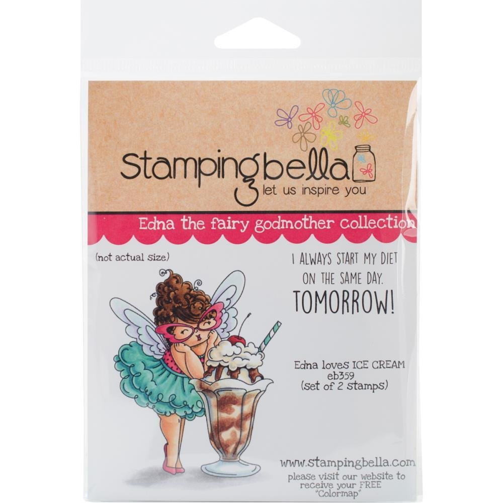 Stamping Bella Edna The Fairy Godmother Collection - Assorted