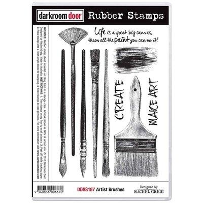 Darkroom Door Rubber Stamp Set - Assorted