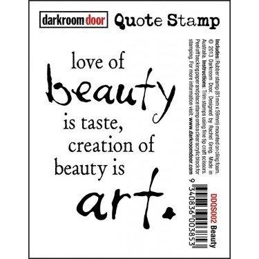 Darkroom Door Quote Stamp - Assorted