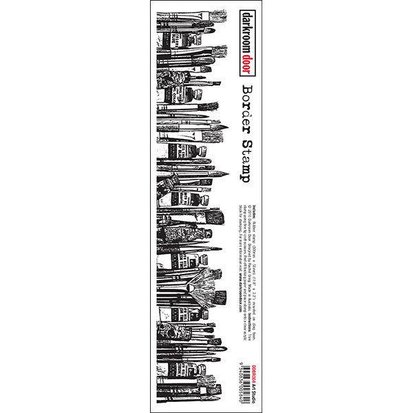 Darkroom Door Border Stamp - Assorted