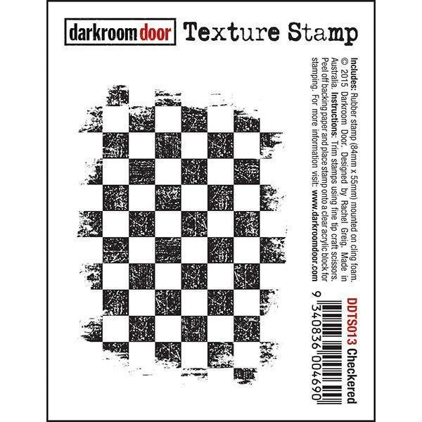 Darkroom Door Texture Stamp - Assorted