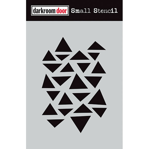 Darkroom Door Stencil Small