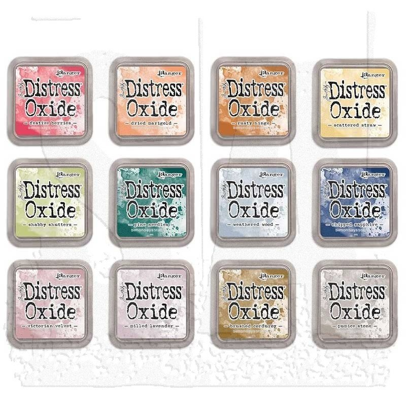 Tim Holtz Distress Oxides Ink Pads Set 5