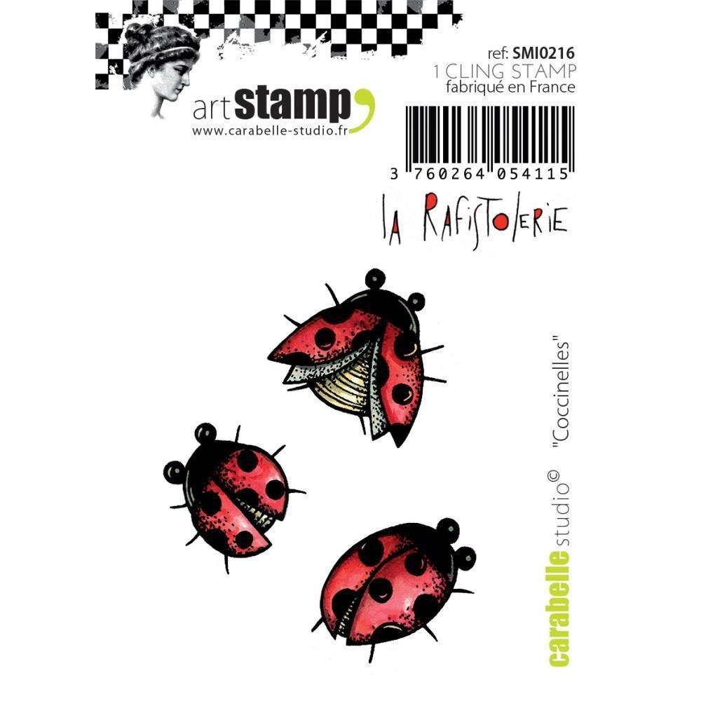 "Carabelle Art Stamp 2.75""x3.75"""
