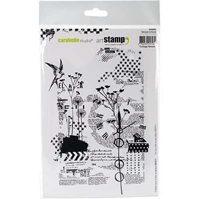 Carabelle Studio Background Cling Stamp A5 - Assorted