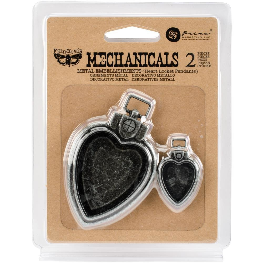 Finnabair Mechanicals Metal Embellishments - Assorted