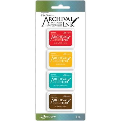 Wendy Vecchi Ranger Archival Mini Ink Pad Kits - Assorted