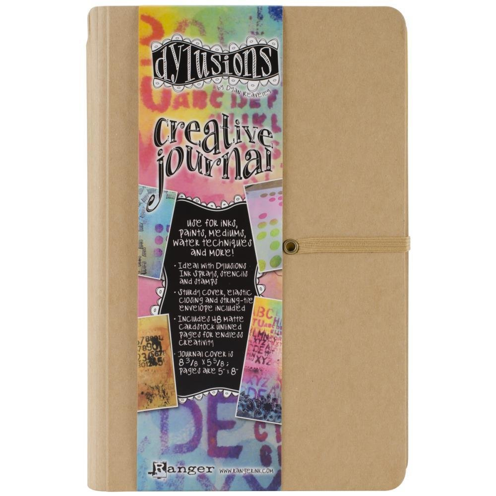 "Dylusions Creative Journal Kraft 8.375""X5.625"""