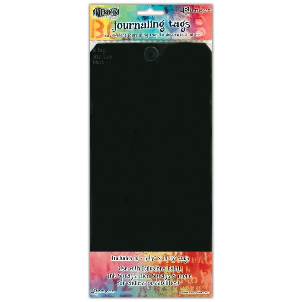Dylusions Journal Tags 10/Pkg - Assorted