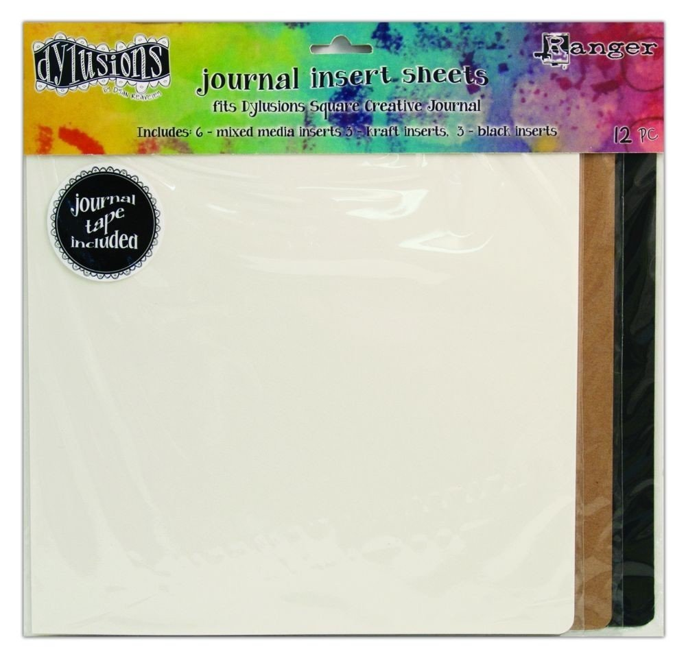 Dylusions Journal Inserts Square