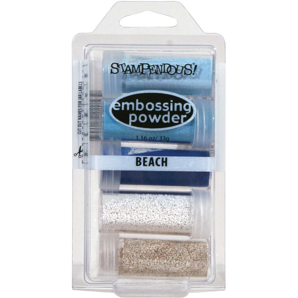 Stampendous Embossing Powder Beach