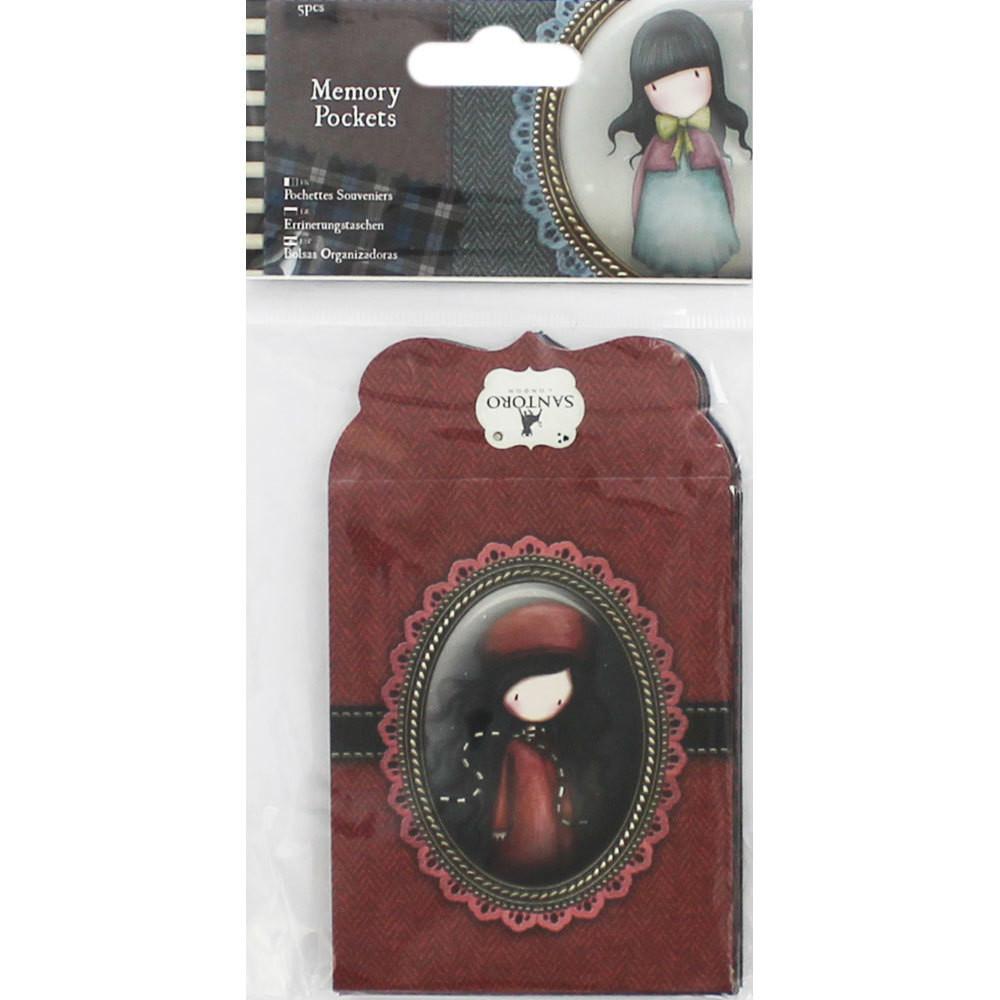 Santoro Gorjuss Tweed Memory Pockets