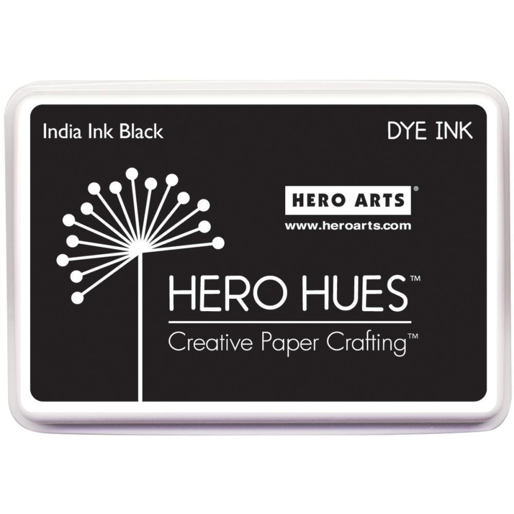 Hero Arts Dye Ink Pad India Ink Black
