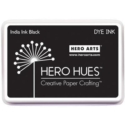 Hero Arts Dye Ink Pad India Ink Black