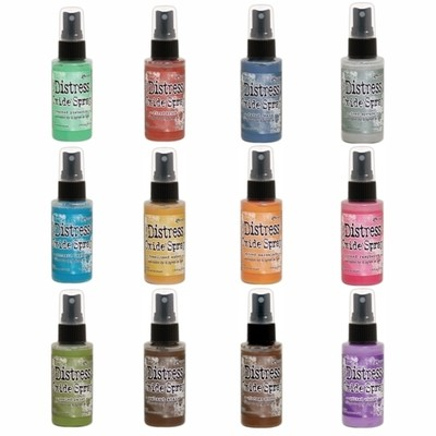 PREORDER Tim Holtz Distress Oxide Sprays set 1
