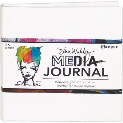 "Dina Wakley Media Journal White 6""X6"""