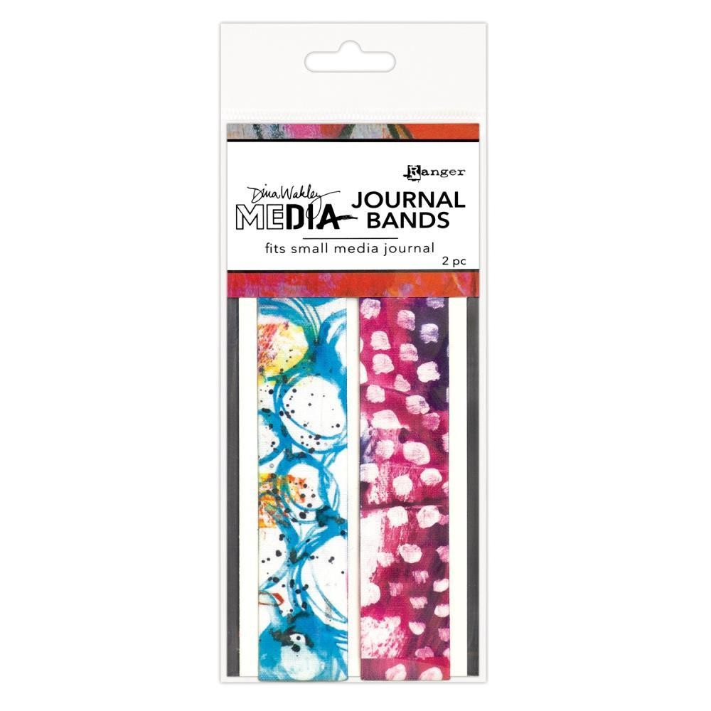 Dina Wakley Media Printed Journal Bands Small