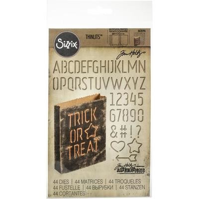 Tim Holtz Sizzix Thinlits Dies Treat Bag