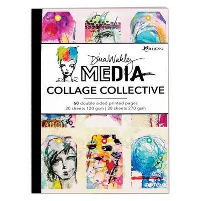 Dina Wakley Media Mixed Media Collage Collective