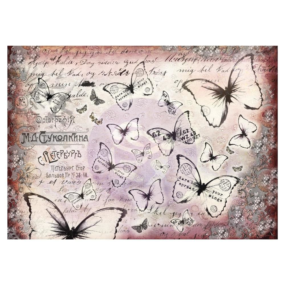 Finnabair Mixed Media Tissue Paper Flutter