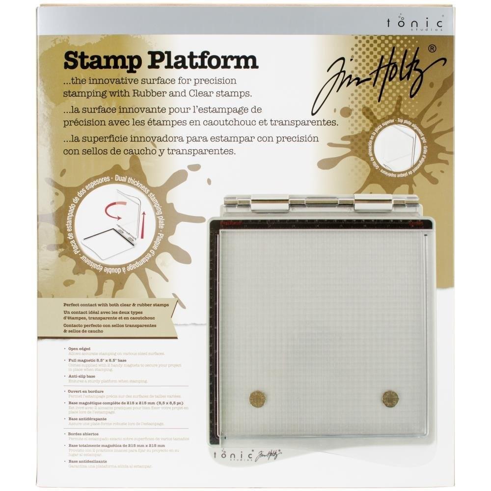 """Tim Holtz Stamp Platform 8.5""""X8.5"""""""