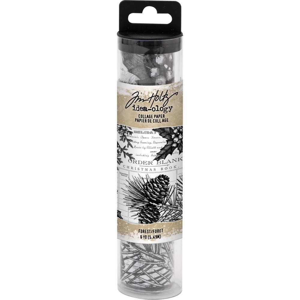 Tim Holtz Idea-Ology Collage Paper Forest