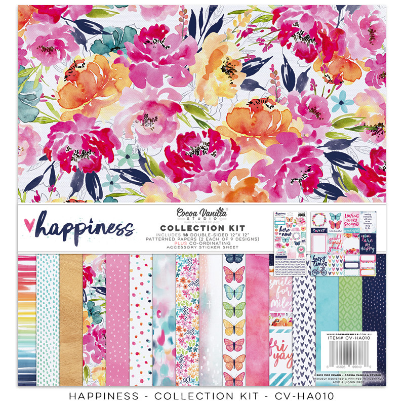 Cocoa Vanilla Happiness Collection Kit