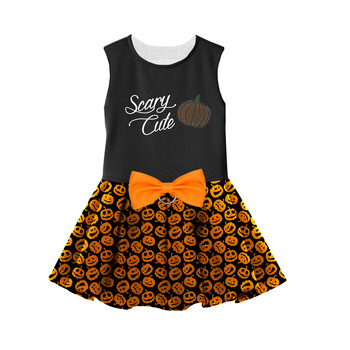 Halloween Dog Harness Dress - Scary Cute
