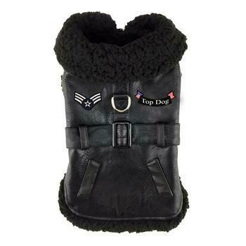 Top Dog Flight Harness Coat - Black
