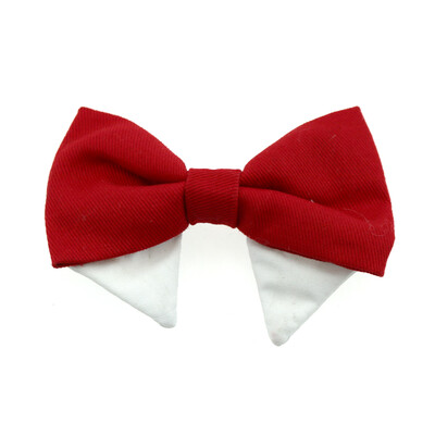 Universal Dog Bow Tie - Solid Red