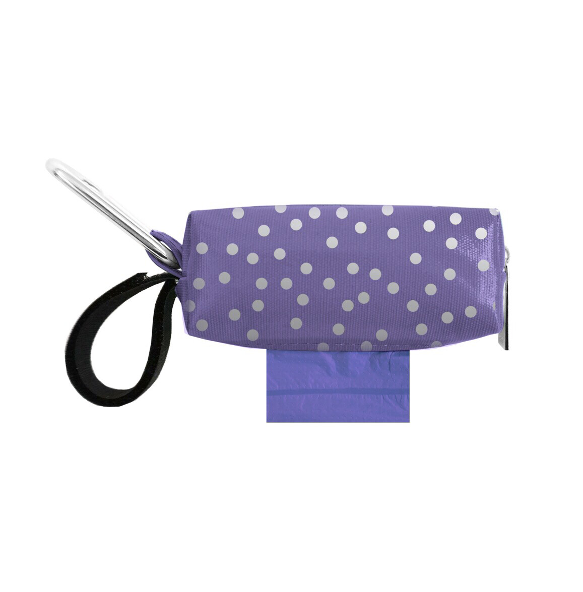 Purple w/ Silver Dots Duffel (Limited Edition)
