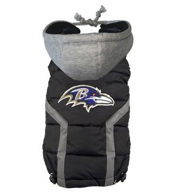 NFL Puffer Vest - Baltimore Ravens