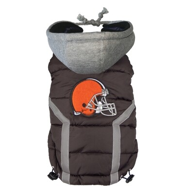 NFL Puffer Vest - Cleveland Browns