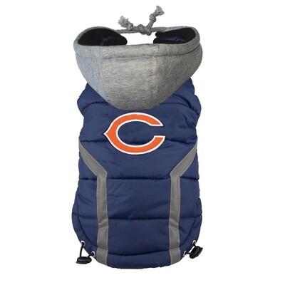 NFL Puffer Vest - Chicago Bears